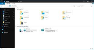 Windows 10 Explorer Microsoft Is Adding A Dark Theme To Windows 10s File Explorer
