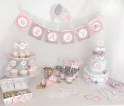 Pink Elephant Baby Shower  Elephant Theme Ideas With Cute PicturesElephant Themed Baby Shower For Girl