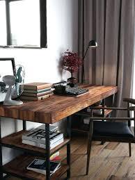 industrial style office desk. Industrial Style Office Desk Best Wood Ideas On Regarding Amazing Residence N