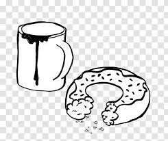 Red liquid illustration, white chocolate chocolate bar milk chocolate syrup, creative. Line Art Donuts Drawing Black And White Coffee Doughnuts Tree Cartoon Donut Transparent Png