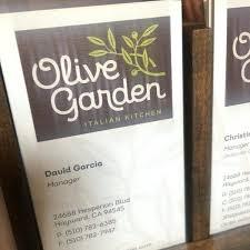 olive garden hayward hours in ca
