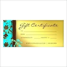 Sample Certificate Templates Spa Gift Certificate Template 2 Free Massage Cards With Printable