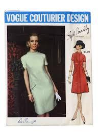 Vogue Patterns Dresses Unique Vogue Pattern No 48 Sixties Vintage Sewing Pattern C48 Vogue