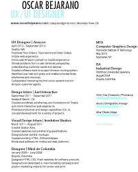 resume ux designer ui designer resume wikirian com