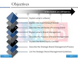 brand management objectives brand management ppt download