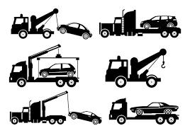 牽引トラックイラスト素材無料ダウンロード著作権フリーでパターン