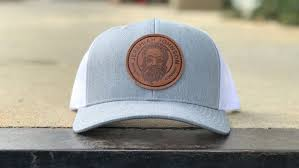 brewery custom leather patch hat