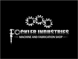machine shop logo. fockler industries - machine and fabrication shop logo design concepts #78