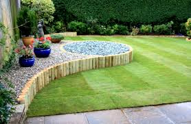 Simple Garden Landscaping Ideas Landscape Images Nikaelcom The Easy  Backyard Jennifer Azzi With Fetching Gardening