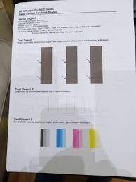 yazıcı renk test sayfası