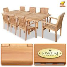 wood used for furniture. 9pcs Outdoor Patio Classic Dining Wood Teak Furniture Set 1 Table And 8  Chairs Wood Used For Furniture