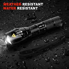 Powerful <b>12000LM</b> XM-L Zoomable CREE T6 <b>LED</b> Flashlight torch ...