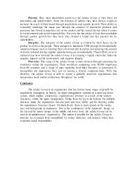 adidas group management organizational structure and csr analysis 8