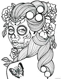 Free Printable Sugar Skull Coloring Pages Best Of Photography 60