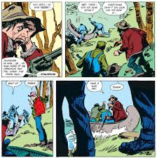 reaching the river they steal a canoe and head downstream but wolverine follows and kills needle bruno and malone reach s but bruno turns on malone