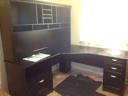 office depot l shaped desk with hutch sauder techtonicsinfo com