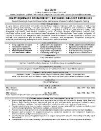Hospital Equipment Repair Sample Resume Cool Equipment Operator Resume Resume Examples Pinterest Resume