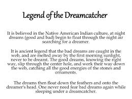 The Story Of Dream Catchers PPT Legend of the Dreamcatcher PowerPoint Presentation ID100 7