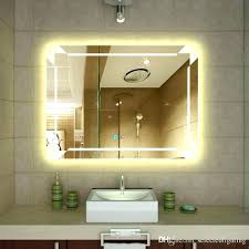 Illuminated wall mirrors for bathroom Battery Operated Lighted Wall Mirror Illuminated Mirrors For Bathroom Decorative Bathrooms And Large Beautiful Mounted Canada Rachidinfo Lighted Wall Mirror Illuminated Mirrors For Bathroom Decorative