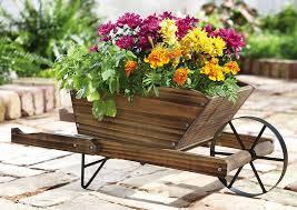 Decorative Garden Urns Decorative Garden Wheelbarrow 100 Wheelbarrow Planter Ideas For Your 56