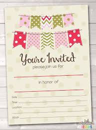 7 Blank Party Invitations Free Editable Psd Ai Vector Eps