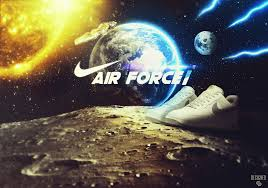 Wallpaper NIKE AIR FORCE 1 by SaxTop on ...