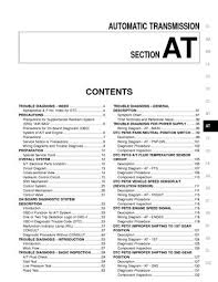 2000 nissan frontier automatic transmission section at pdf 2000 nissan frontier automatic transmission section at 350 pages