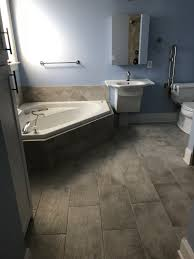 bathroom remodeling wilmington nc. Large Format Tile Bath Floor Bathroom Remodeling Wilmington Nc S