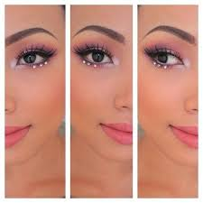 rhinestone makeup prom inspo prom makeup looks prom 2016