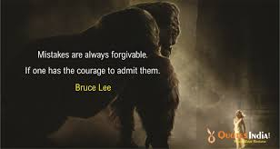 Mistakes Are Always Bruce Lee Quotes India Quotes Health