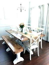 west elm emmerson table chestnut diy dining dupe bench reclaimed wood round kitchen delectable room tables