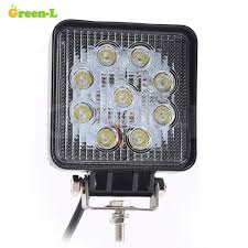 Green Led Work Light Green L 4 Inch 27w Led Work Light 12v Spot Beam For 4x4