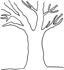 Small Picture Simple Tree coloring page have children color then ink thumb