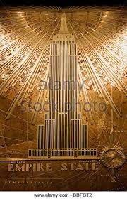 empire state building interior. empire state building interior lobby plaque new york nyc usa united states america stock image i