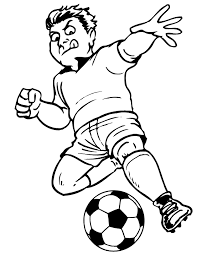 Soccer Coloring Pages Getcoloringpagescom