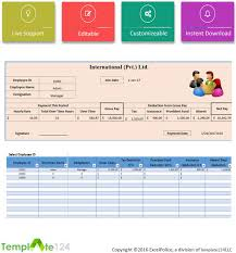 excel payroll template printable employee payroll template excel 2017 template124