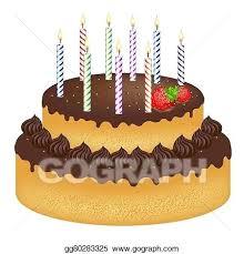 How To Draw A Birthday Cake Vidhicardscom