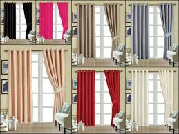stripe lined eyelet curtains width