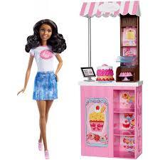 Barbie Bakery Owner Doll Playset Walmartcom
