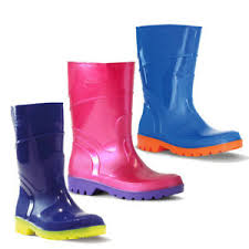 Details About Childrens Gumboots Bata Bubblegummers Kids Gumboot Hi Cut 3 Colours Size 4 2 New