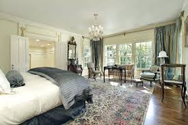rug in bedroom emily henderson rug size bedroom