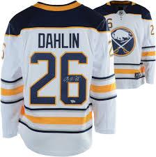 White Buffalo Breakaway Fanatics Jersey Rasmsus Sabres Autographed Dahlin