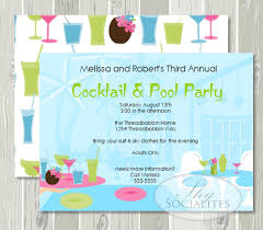 Pool Party Photo Invitations - Kleo.beachfix.co