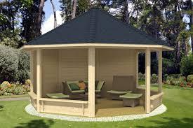 Gartenpavillon Holz Rund