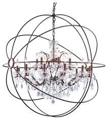 smoke crystal chandelier orb crystal chandelier smoke gray crystal chandelier welles smoke crystal rectangular chandelier 49 smoke crystal chandelier