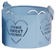 Blue Sky Tea Light Holders 5 Home Sweet Home Tea Light Candle Holders In Iron Sky