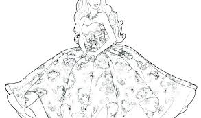 Coloring Pages For Girls Adults To Print Cute Barbie Overview With