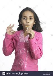 Asian young girl sucking