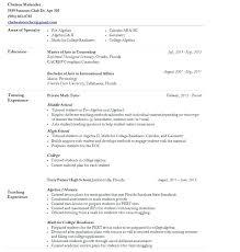 Math Tutor Resume Tutor Resume Samples Velvet Jobs Resumes Sample