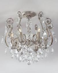 chandelier flush mount light fixture